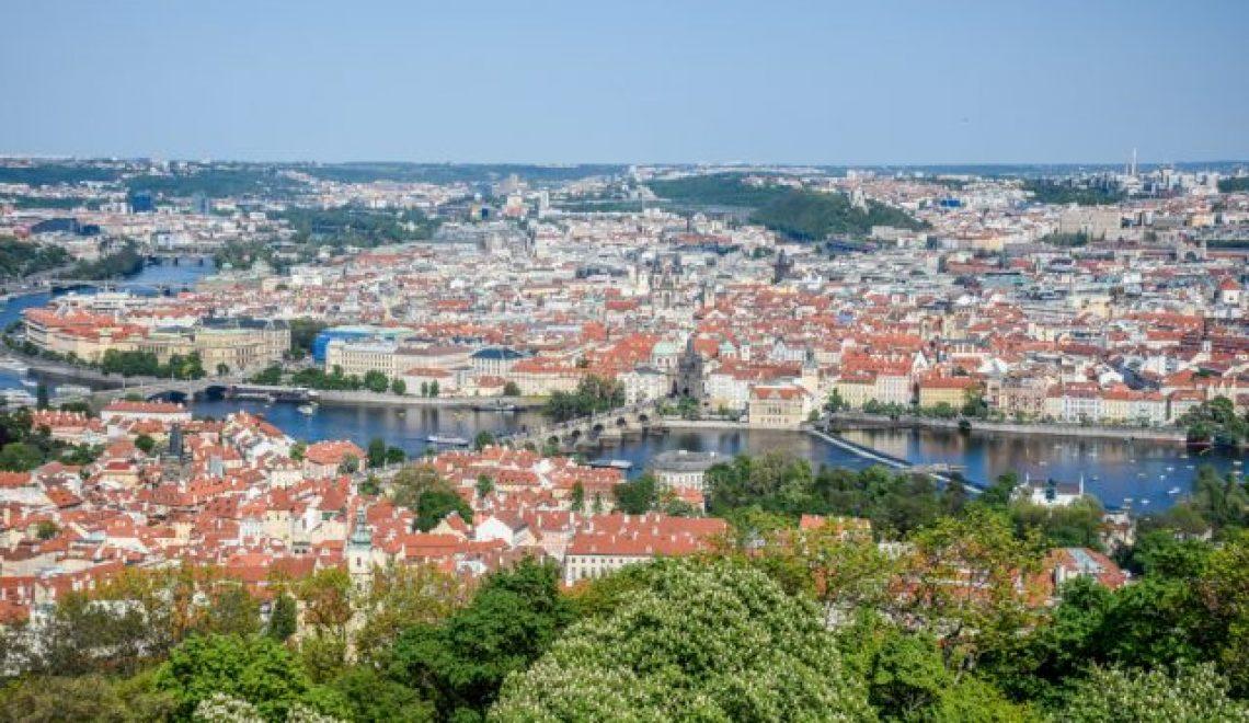 Prague castle, Little Quarter and Petrin hill